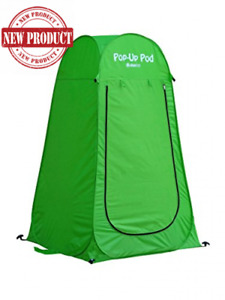 Pop Up Privacy Portable Toilet Shower Tent Changing Room Camping Shelter Beach