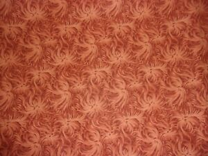 2 YARDS Day Dream Rust Tonal Quilting Sewing Crafts Applique Cotton Fabric