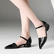 New Summer Fashion Korean Pointy Toe Shallow Mouth Shoe Womens Casual Low Heels@