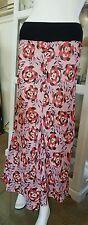 Oneteaspoon skirt.Sz12.Dsgnd & md in Aus.100% cotton floral.Soft stretch waist.