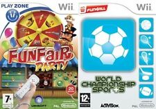 Funfair Party & world championship sports new&sealed