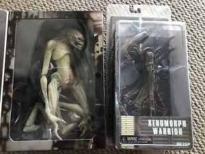 NECA Alien Resurrection Newborn And Warrior Figures