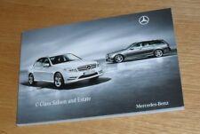 Mercedes C Class Brochure 2010 C200 C220 C250 C350 CDI C180K C350 C63 AMG Sport