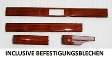 WOOD SET 4 PIECES Mercedes W123 C123 S123 ZEBRANO CLIMA
