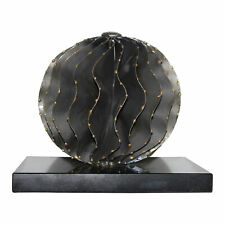 Moes Home Collection MK-1042 Black Orb Iron Abstract Sculpture