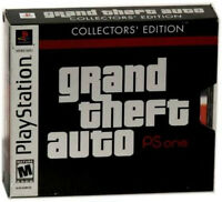 Grand Theft Auto -- Collector's Edition (Sony PlayStation 1, 2002) -UK PAL