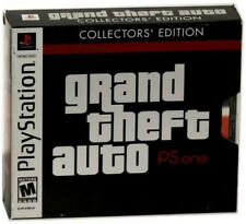 Grand Theft Auto -- Collector's Edition (Sony PlayStation 1, 2002) -UK VERSION