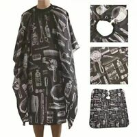 Hair Cutting Cape Pro Salon Hairdressing Hairdresser Gown Barber Cloth Apron CA