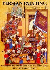 Persian Painting 16th Century Royal Safavid Manuscripts Palaces Warriors Gardens