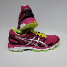 Asics gel-divide Women zapatillas Hot Pink/Silver/Flash Yellow UK 6,5 UE 40