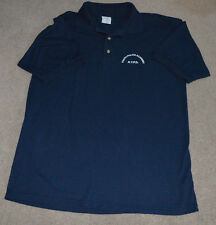 NYPD Youth Police Academy Polo Golf Shirt Large NYC NY