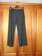 Amanda Marshall size 12  smart grey trousers, VERY FLATTERING CUT, lovely fabric