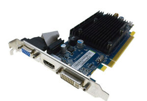 Ati Radeon HD3450 512MB DDR2 64MB Bit D-Sub DVI HDMI Pcie