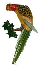 Tropical Spotted Macaw Parrot Tiki Nursery Bath Wall Decor