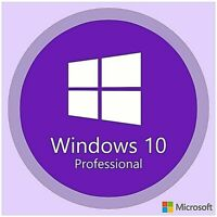 Windows 10 Pro Professional 32 / 64 Bit Activation Licenza Code Full Key