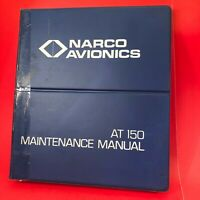 1977 Narco AT 150 TSO Transponder Maintenance Manual 03606-0600