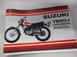 Suzuki TS90 1972  owner's manual  TS90J