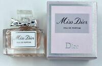 Dior Miss Dior Eau de Parfum 5 ml 0.17 FL OZ  New In Box