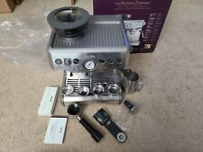 Used / Mfg Refurbished BES870XL - Breville the Barista Express Espresso - Silver