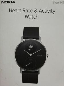 Nokia Special Edition Activity Sleep Tracker Watch Black ***