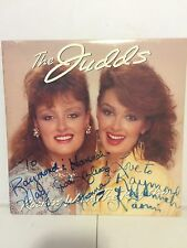 Wynonna & Naomi (The Judds) SIGNED Lp Record - Rocking with the Rhythm