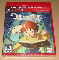 Ni No Kuni Wrath Of The White Witch (Sony PlayStation 3) Brand New / Fast Ship