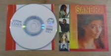Cd  Sandra The Video VCD9  Rare 17 Video Unofficial Release Cretu