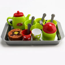 Tea Set Party Children Kids Girls Pretend Play Developmental Kitchen Toy