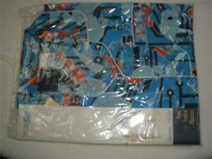 MENS PERMANENT PRESS SHORT SLEEVE SHIRT SIZE 15 1/2 BLUE EMBASSY NEW SEALED