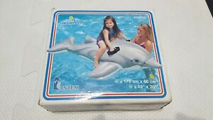 Inflatable 2000 Intex Lil Dolphin Ride on Pool Toy New In Box
