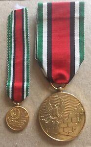 United Arab Emirates UAE Abu Dhabi Armed Forces Amalgamation Set of Medal Badge