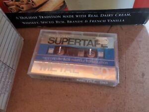 One brand Realistic Metal  Supertape Cassette m90, Sealed, NIP, NOS