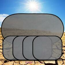 5 Car Side Rear Window Auto Sun Shade Visor Shield Mesh Screen Baby Sunscreen