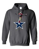 Terrell Owens San Francisco 49ers Dallas Cowboys jersey Hooded SWEATSHIRT HOODIE