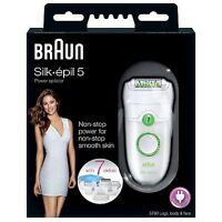 Braun Silk-epil 5 Power 5780 Epilator Womens Body Legs Face Shaver with 7 Extras