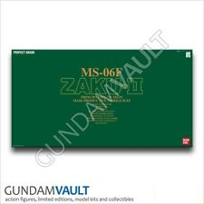 NEW 1/60 PG MS-06F Zaku II Green Gundam Model Kit Bandai Perfect Grade