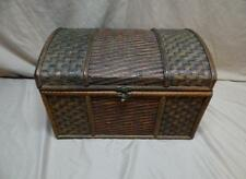 Three Hands Corp Decorative Trunk with lid and Lock  - Item # 50418
