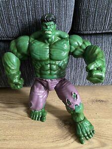 "Disney Store Large 14"" Incredible Hulk Marvel Avengers Talking Action Figure"