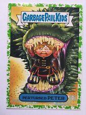 Garbage Pail Kids Prime Slime Trashy TV Sticker 3b Perturbed Peter Green Puke