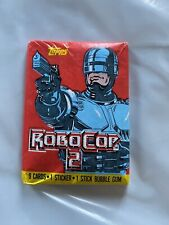 Topps RoboCop 2 Trading Cards Brand New