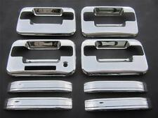 Ford F150 Chrome Door Handle Covers W/ Key Pad W/O Passenger Key Hole