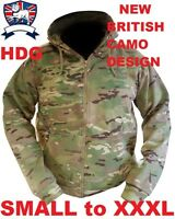BRITISH ARMY JACKET/HOODIE BTP MTP MULTICAM CAMO DPM FLEECE LINED SOFT COMFORT