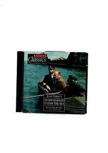 20000 LEAGUES UNDER THE SEA JULES VERNE TALKING CLASSICS NO50 2 SET AUDIO CDS VG