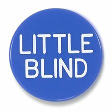 """Brybelly 1.25"""" Engraved Little Blind Poker Button Purple"""