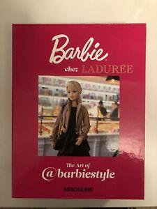 LADUREE Barbie Macaron Box Collectible Assoline