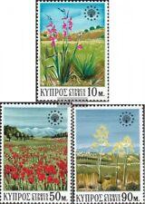 Zypern 335-337 (kompl.Ausg.) postfrisch 1970 Naturschutz