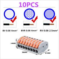 222-418 Lever-Nut,Wire Connectors,Compact Connectors 8 Conductor PCT-218