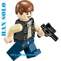 LEGO STAR WARS HAN SOLO 100% LEGO MINIFIG NEW FROM LUKE CANTINA SET 75052