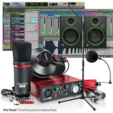 Focusrite Scarlett Solo Studio 2nd Gen Songwriter Home Studio Recording Bundle