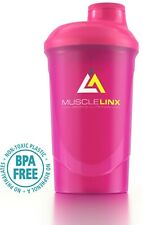 Protein Shaker by Musclelinx Pink